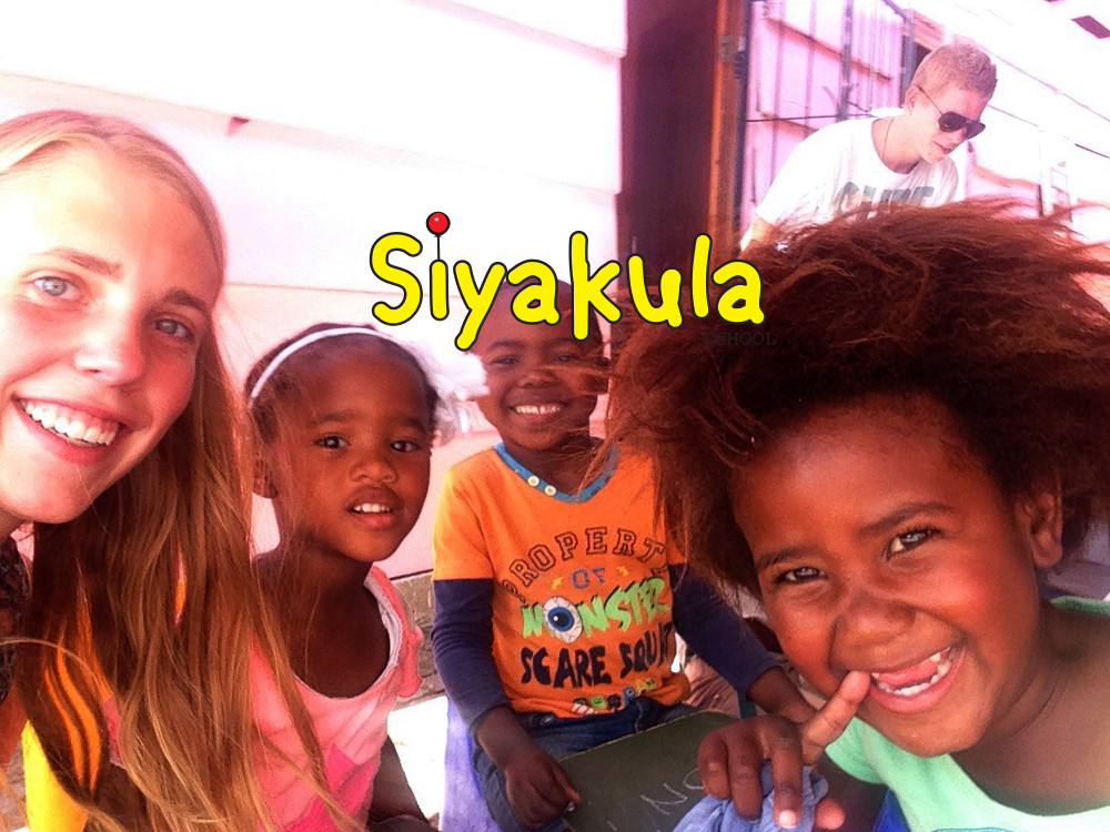 Volunteers visit Siyakula School